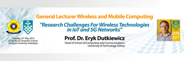 General Lecturer Prof. Dr. Eryk Dutkiewicz